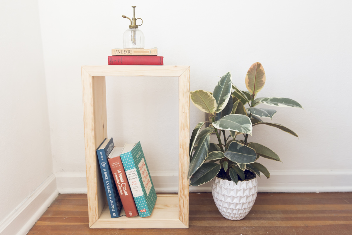 how to make a diy side table