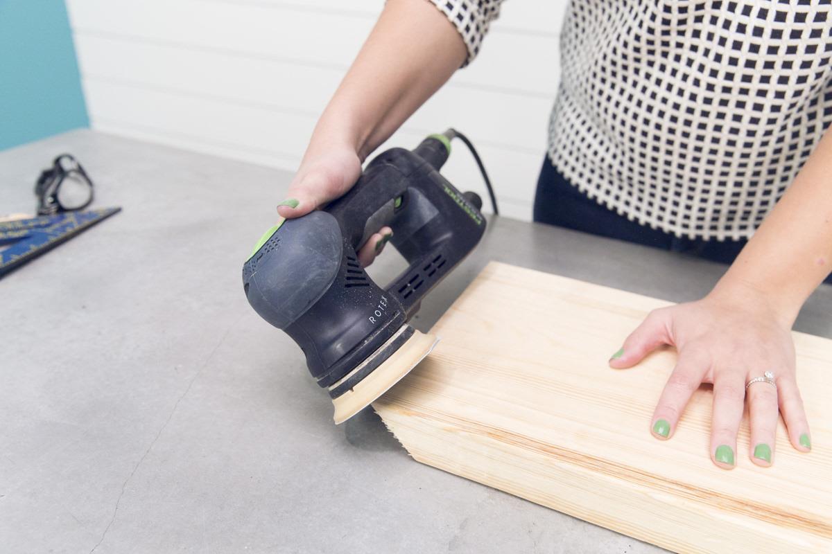 sander wood board