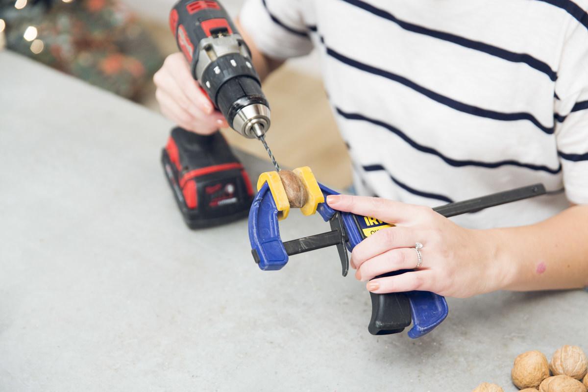 drilling a pecan