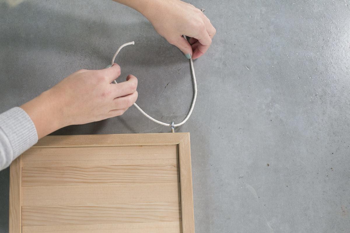 Dunn DIY How to Make a Hanging Shelf Seattle WA 4