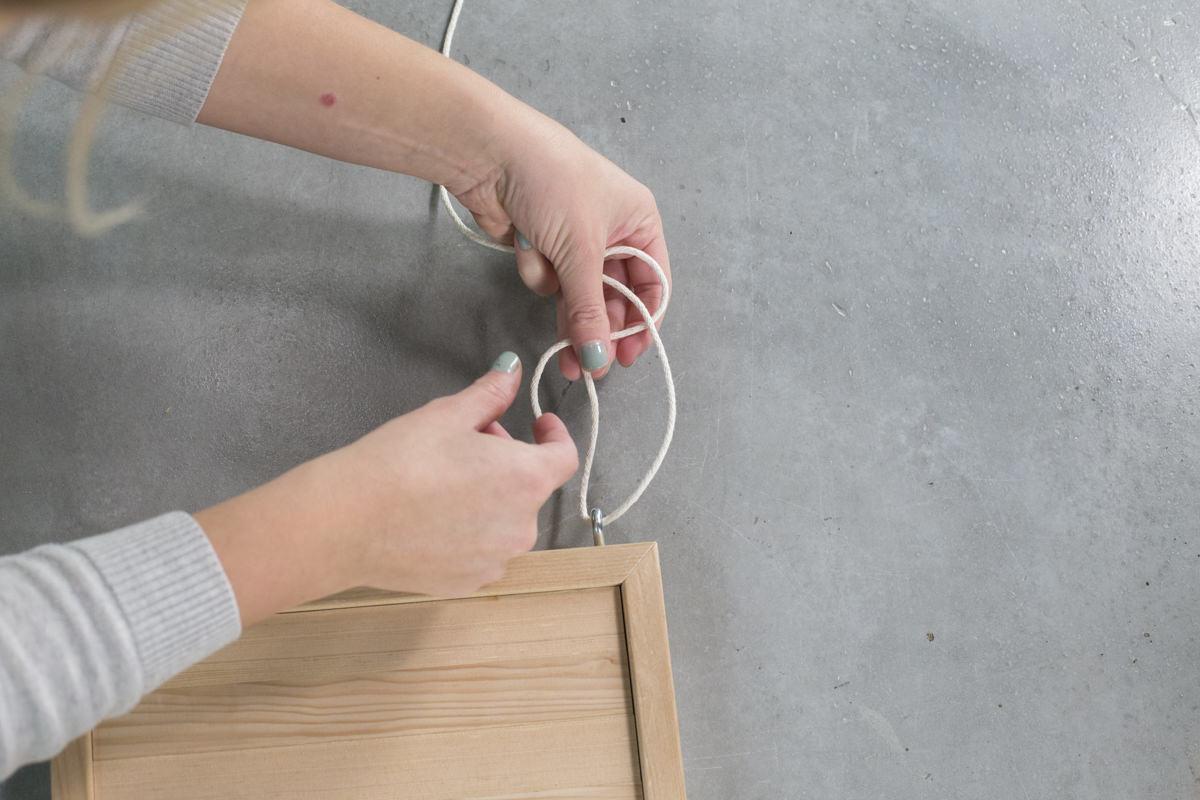 Dunn DIY How to Make a Hanging Shelf Seattle WA 7