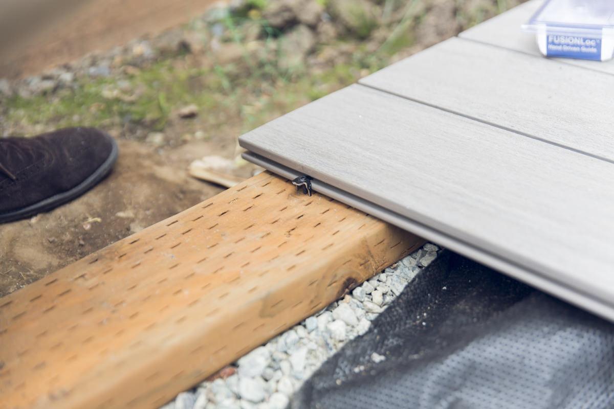 hidden fastener decking