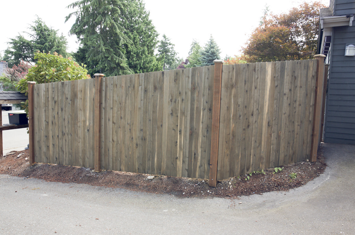treating a fence