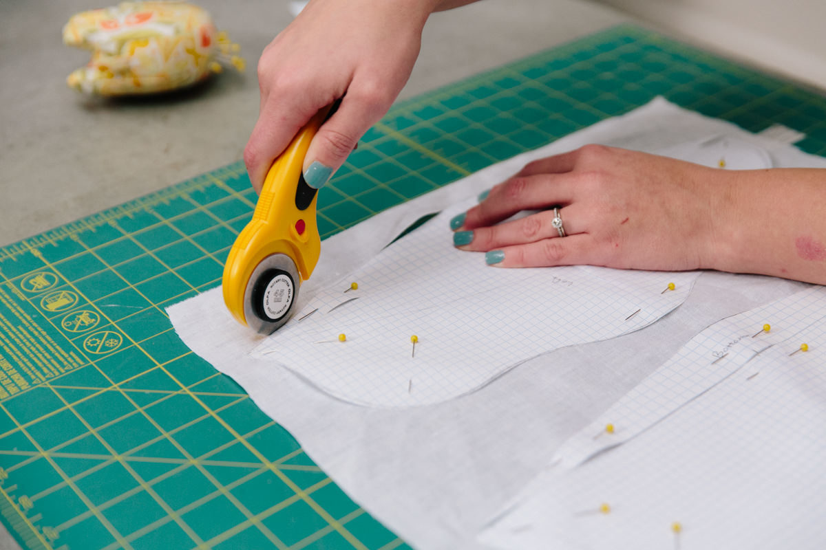 cutting pattern for baby mobile cloud