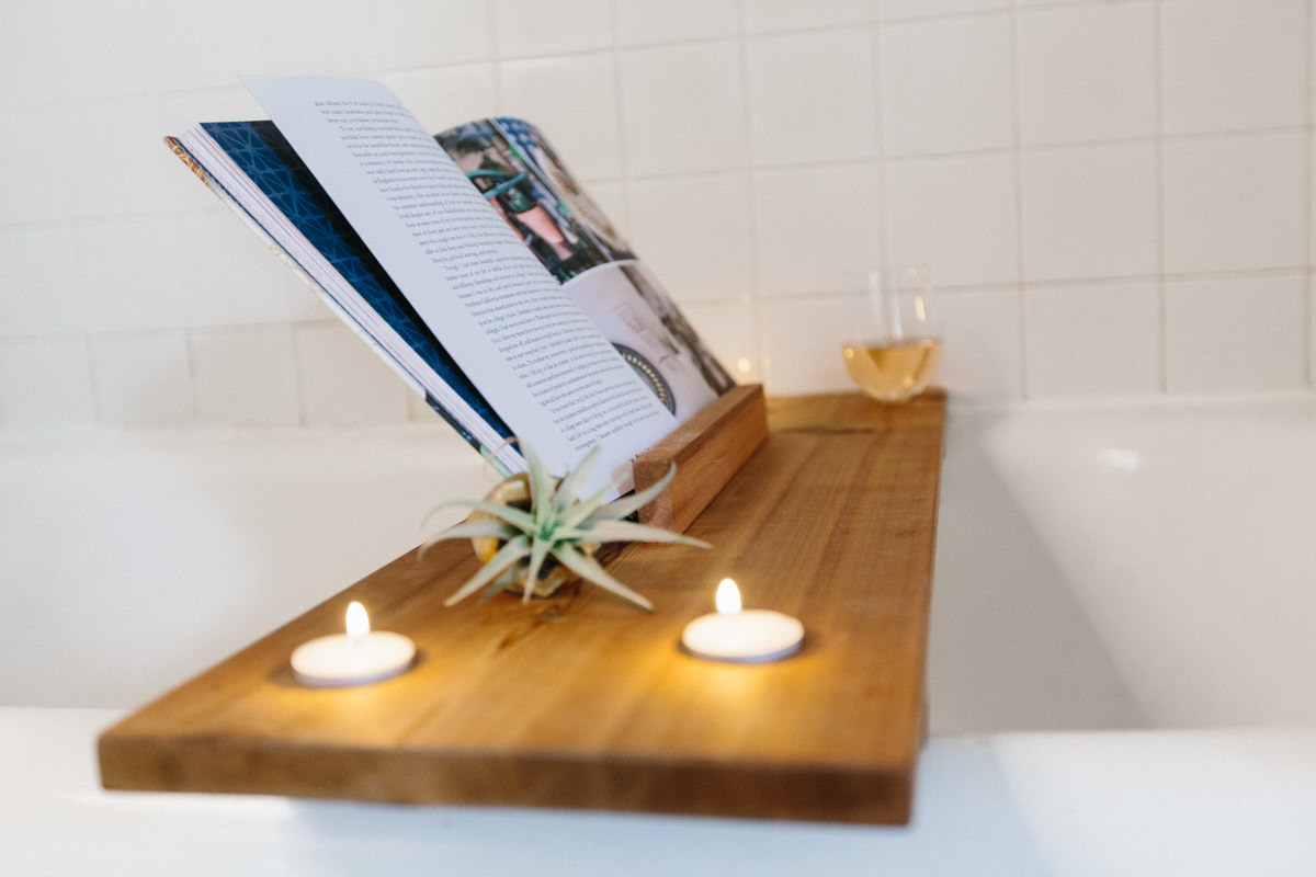 DIY Bath tray