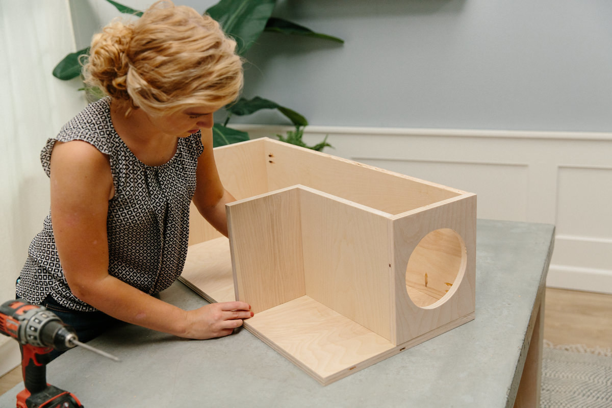 building diy litter box