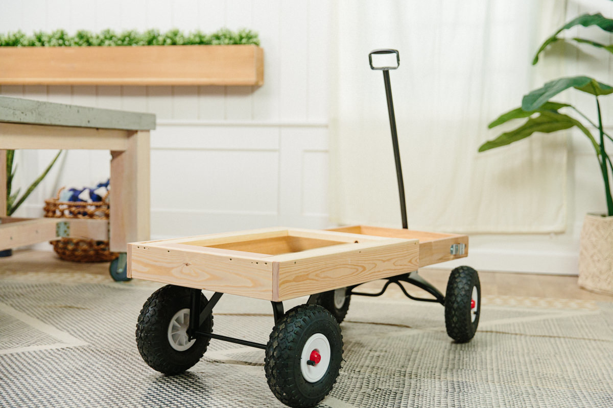 diy wagon base