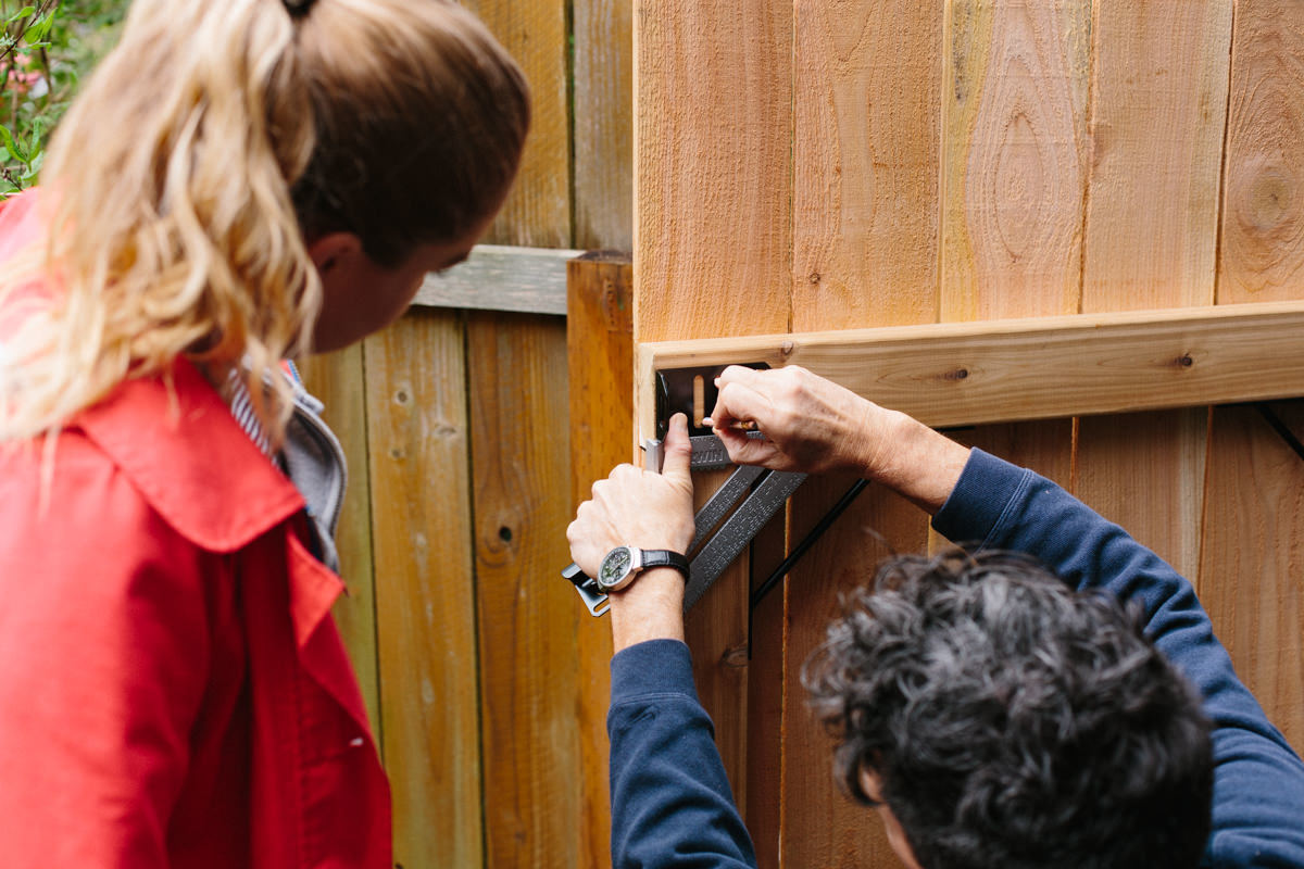 thumb-latch fence gate replacement diy