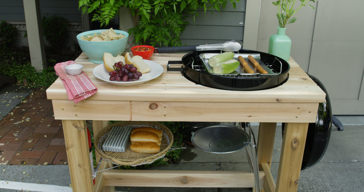 How To Make A Diy Grill Station Home Improvement Projects To Inspire And Be Inspired Dunn Diy Seattle