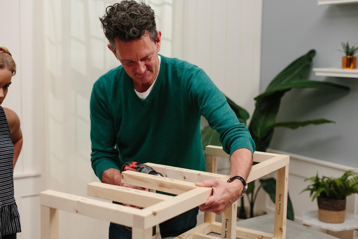 Using Kreg Jigs for frame construction of diy ice chest