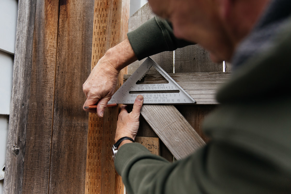 How to Install a Gate Latch - Home Improvement Projects to