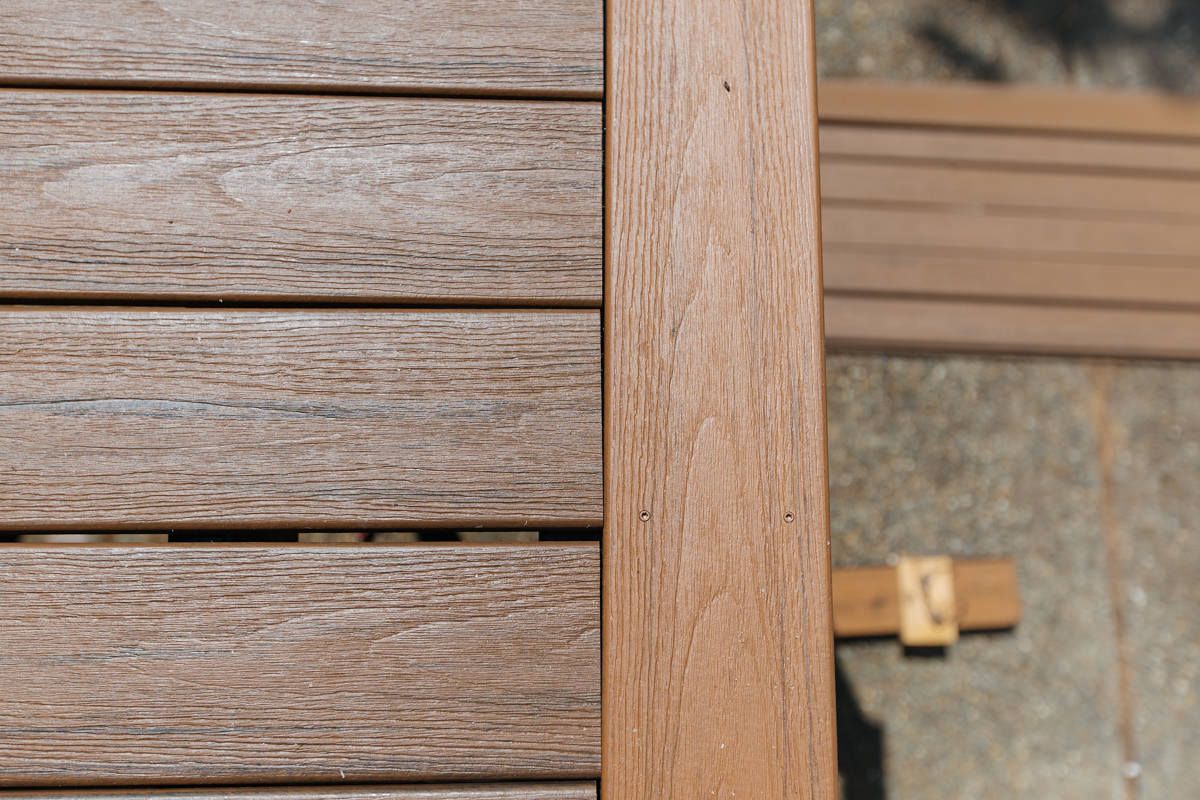 spacing composite decking