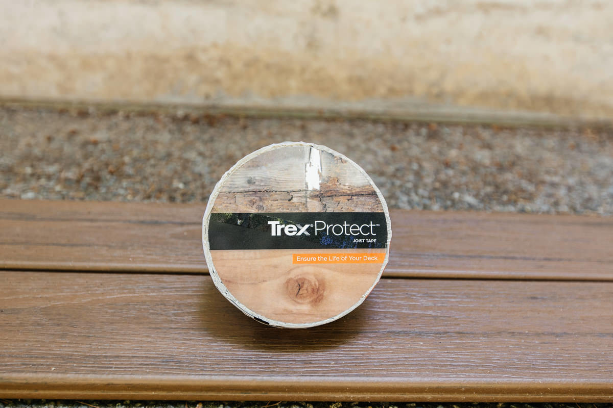 trex joist protection deck tape