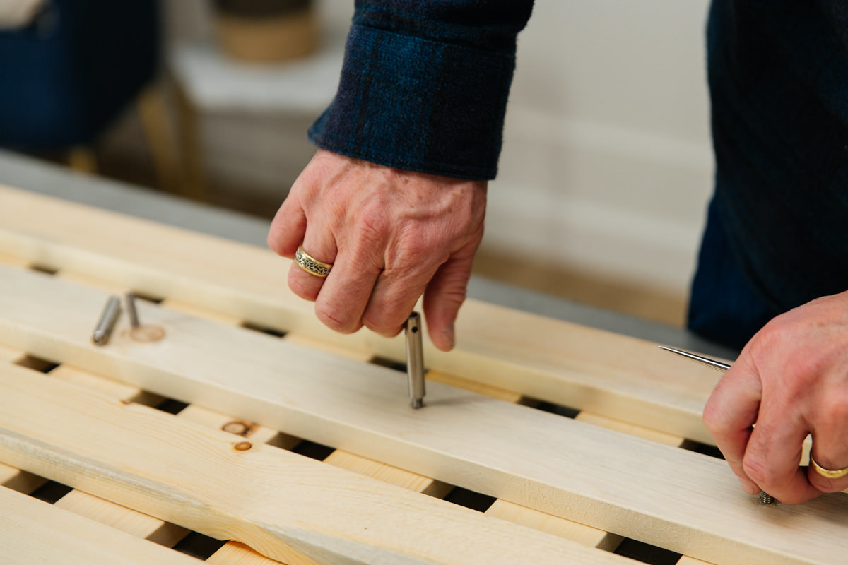 diy wooden trellis