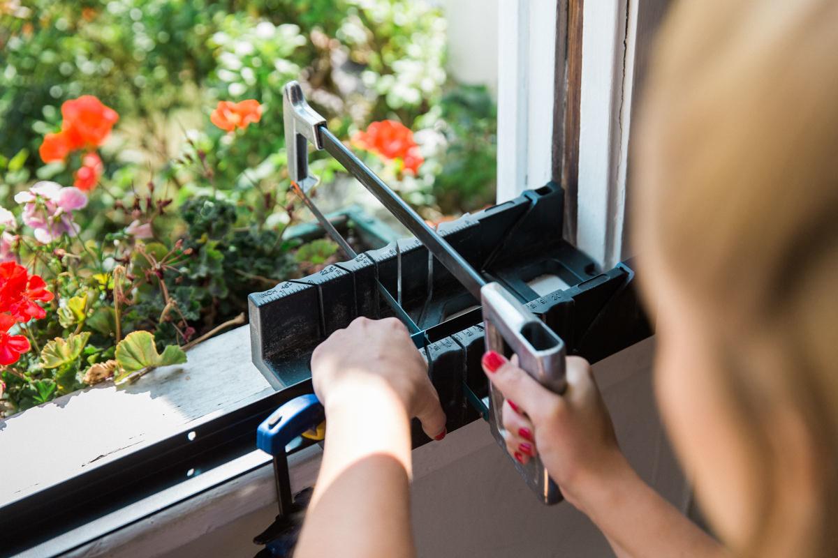 cutting door sweep