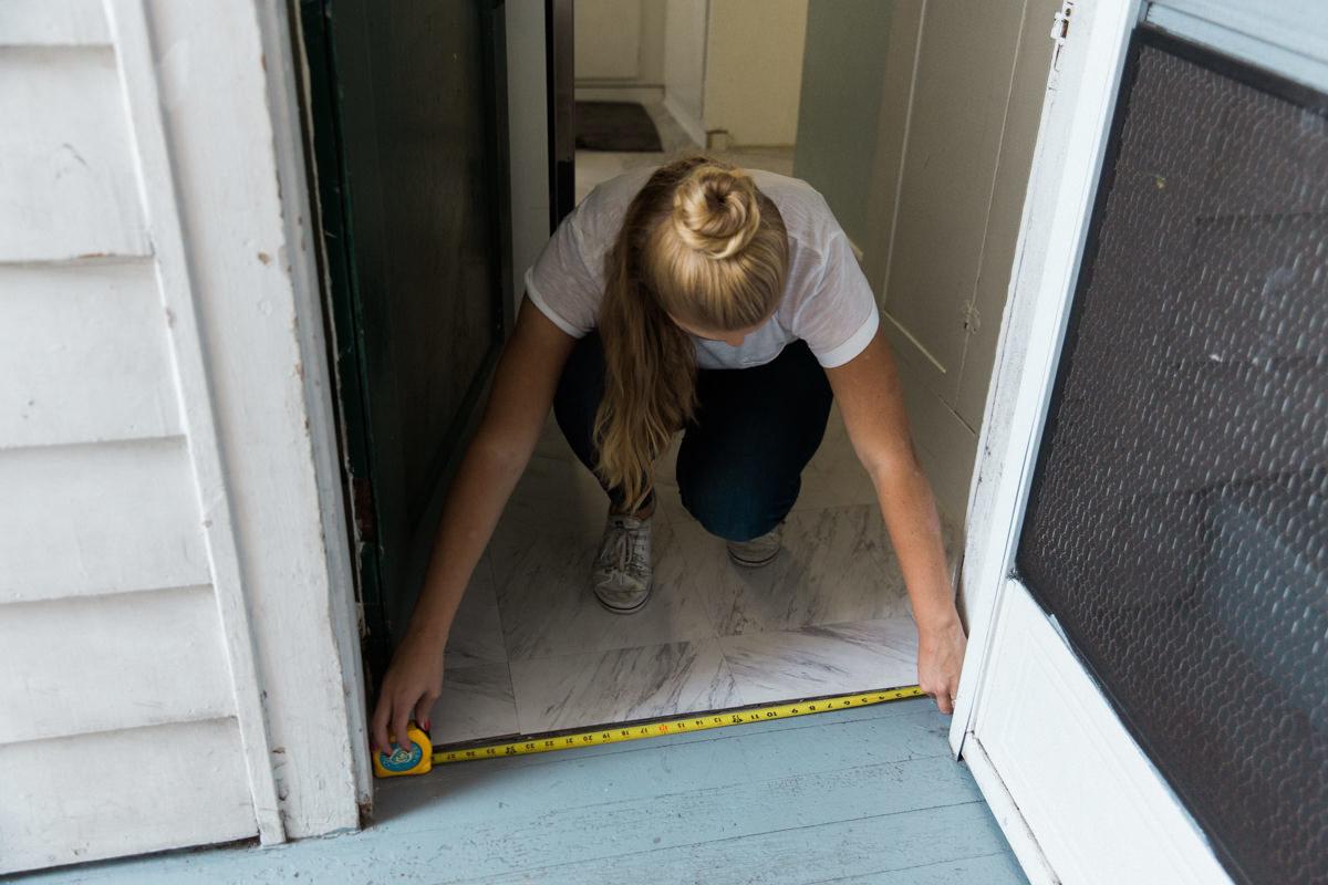 Measure and cut door sweep