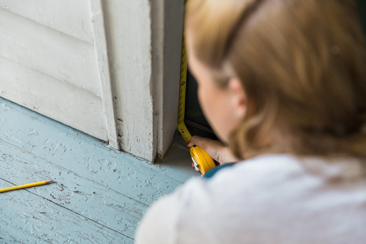 how to fix a drafty door