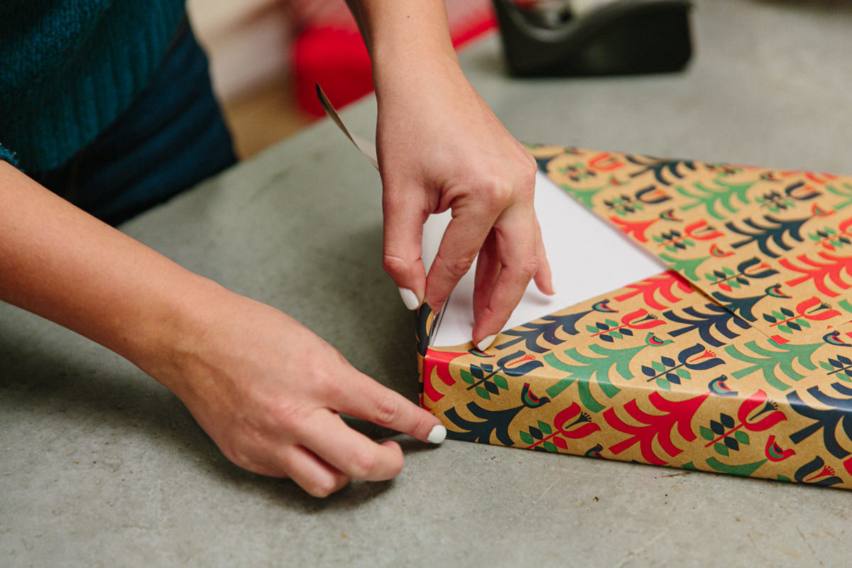 How to wrap a gift
