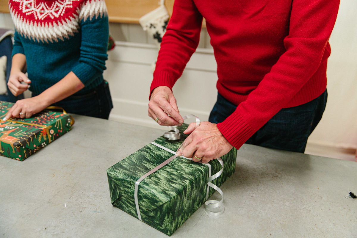 Japanese gift-wrapping method
