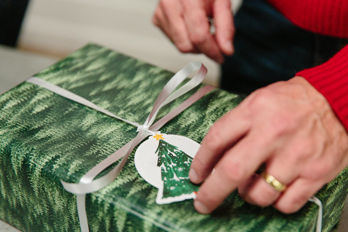 How to Wrap Christmas Gifts (With or Without Tape)