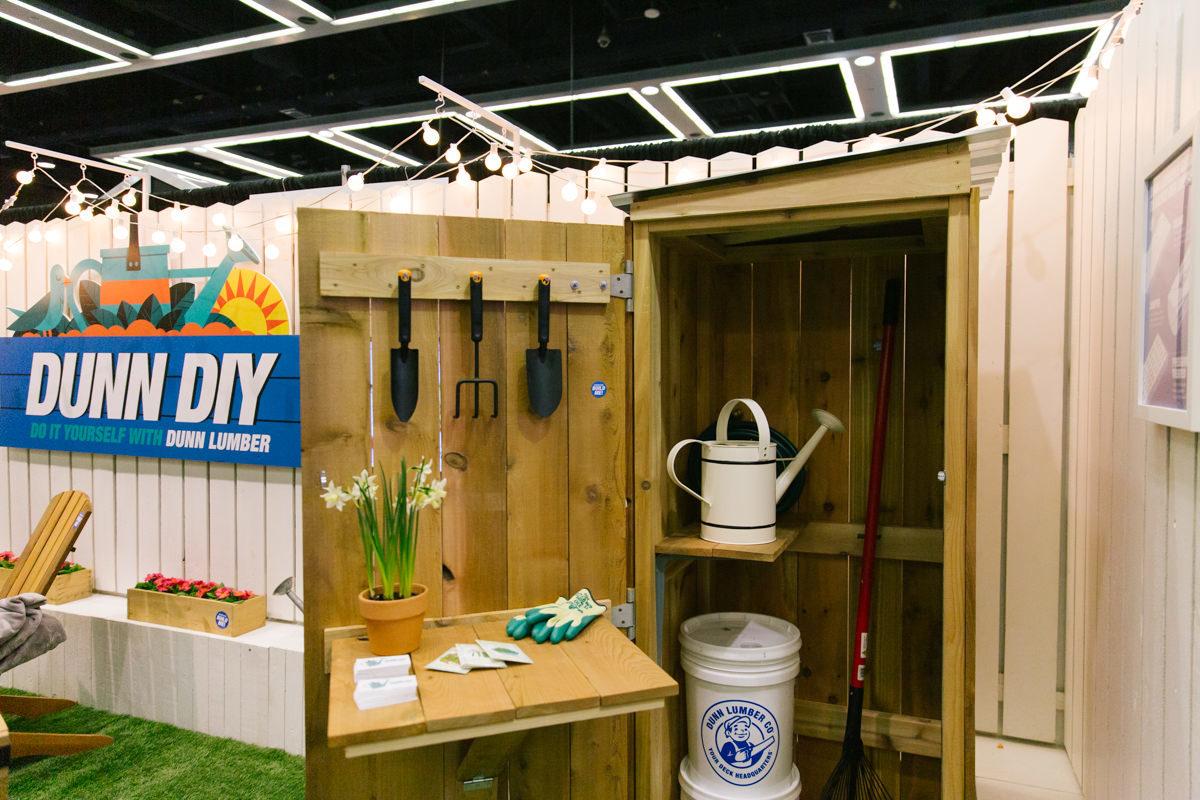 Dunn DIY home show booth