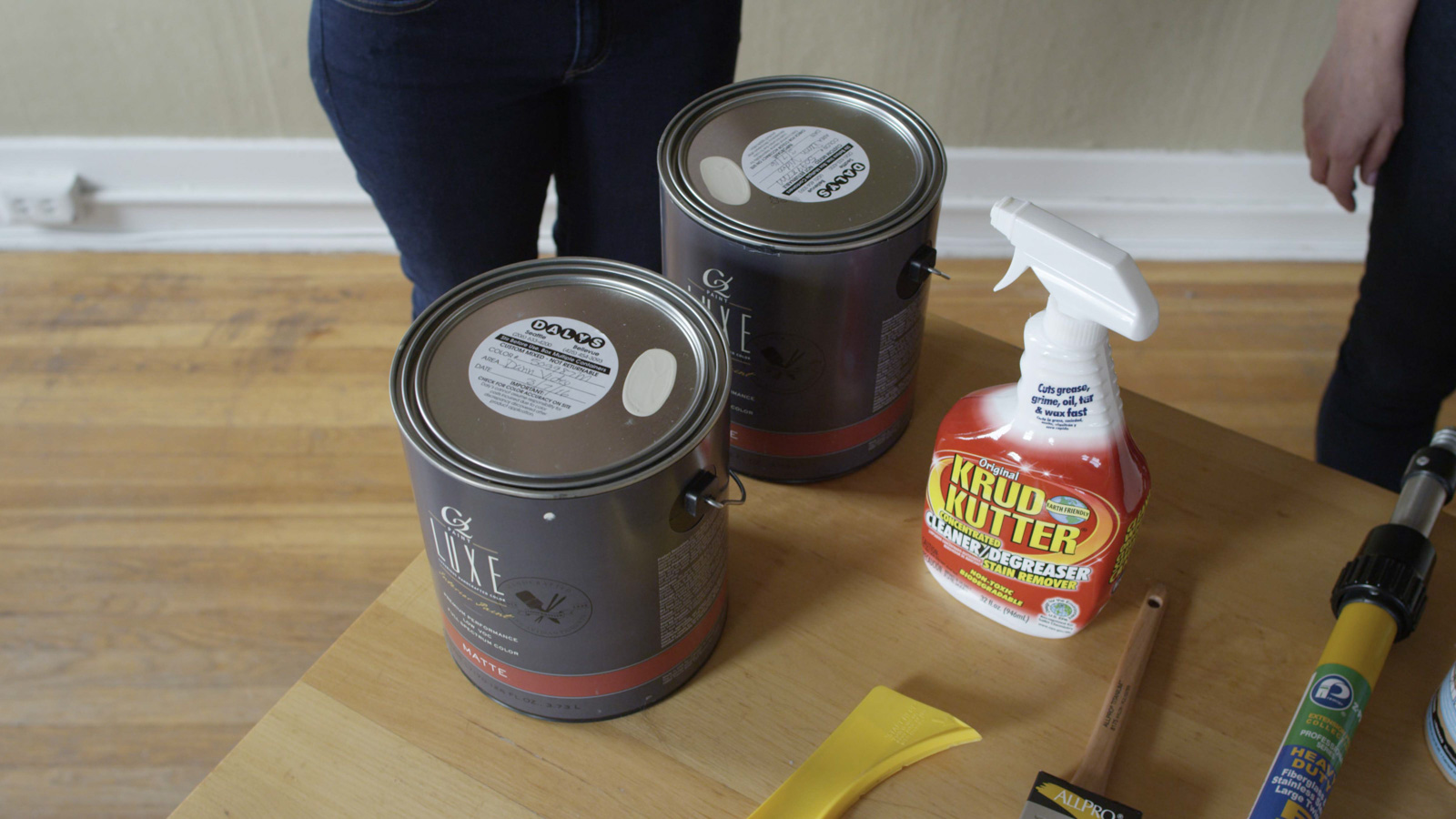 materials for painting walls