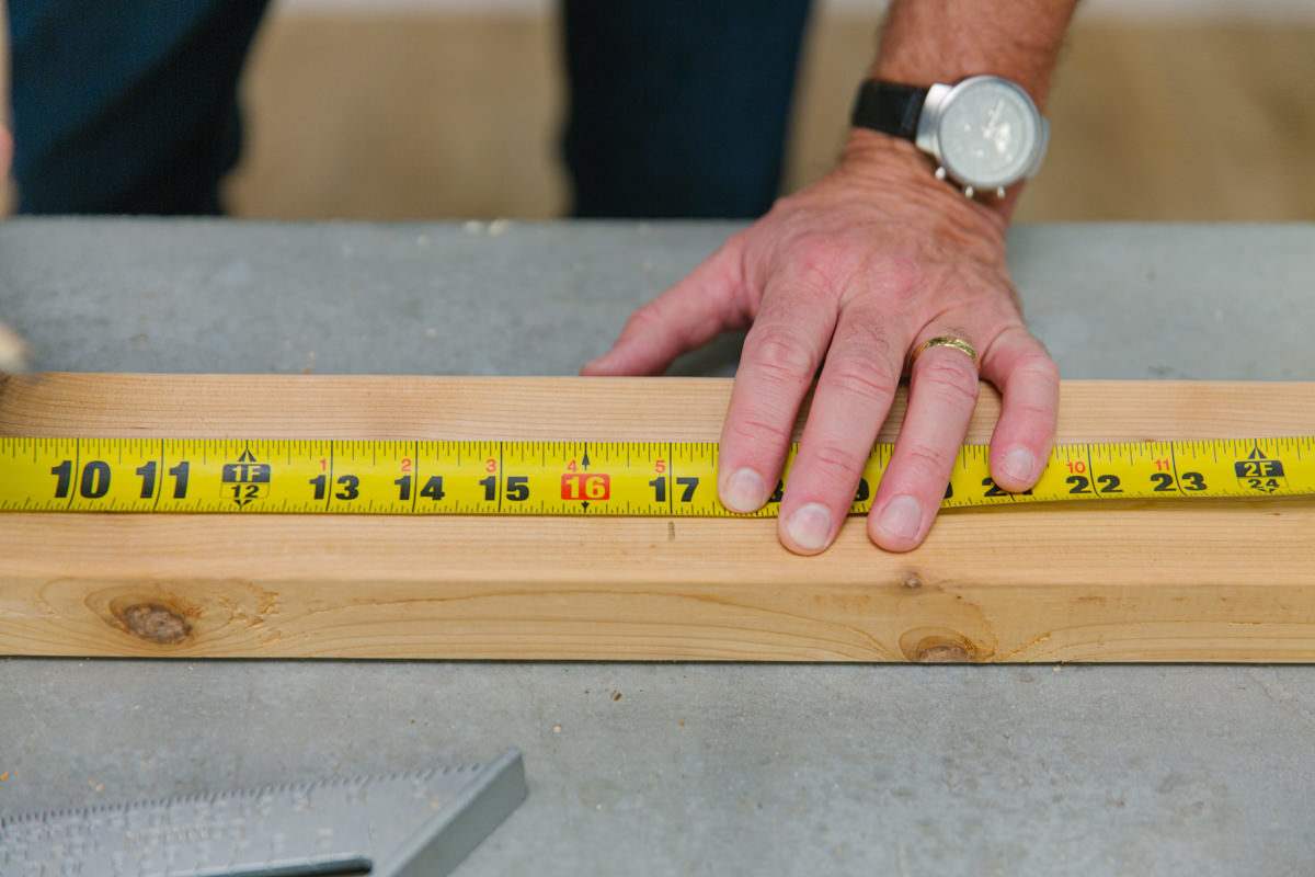measure board sizes for shed