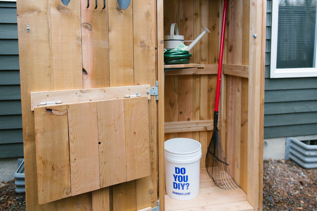 how to build a diy garden storage shed