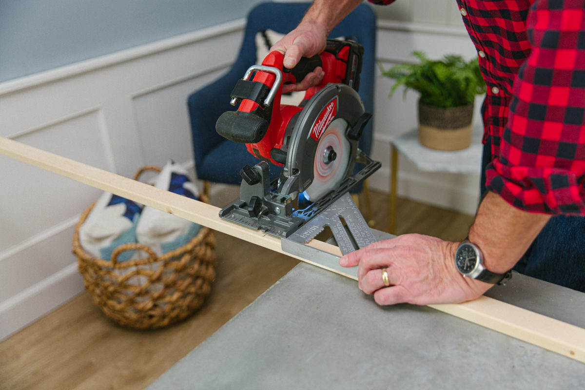 circular saw for DIY project