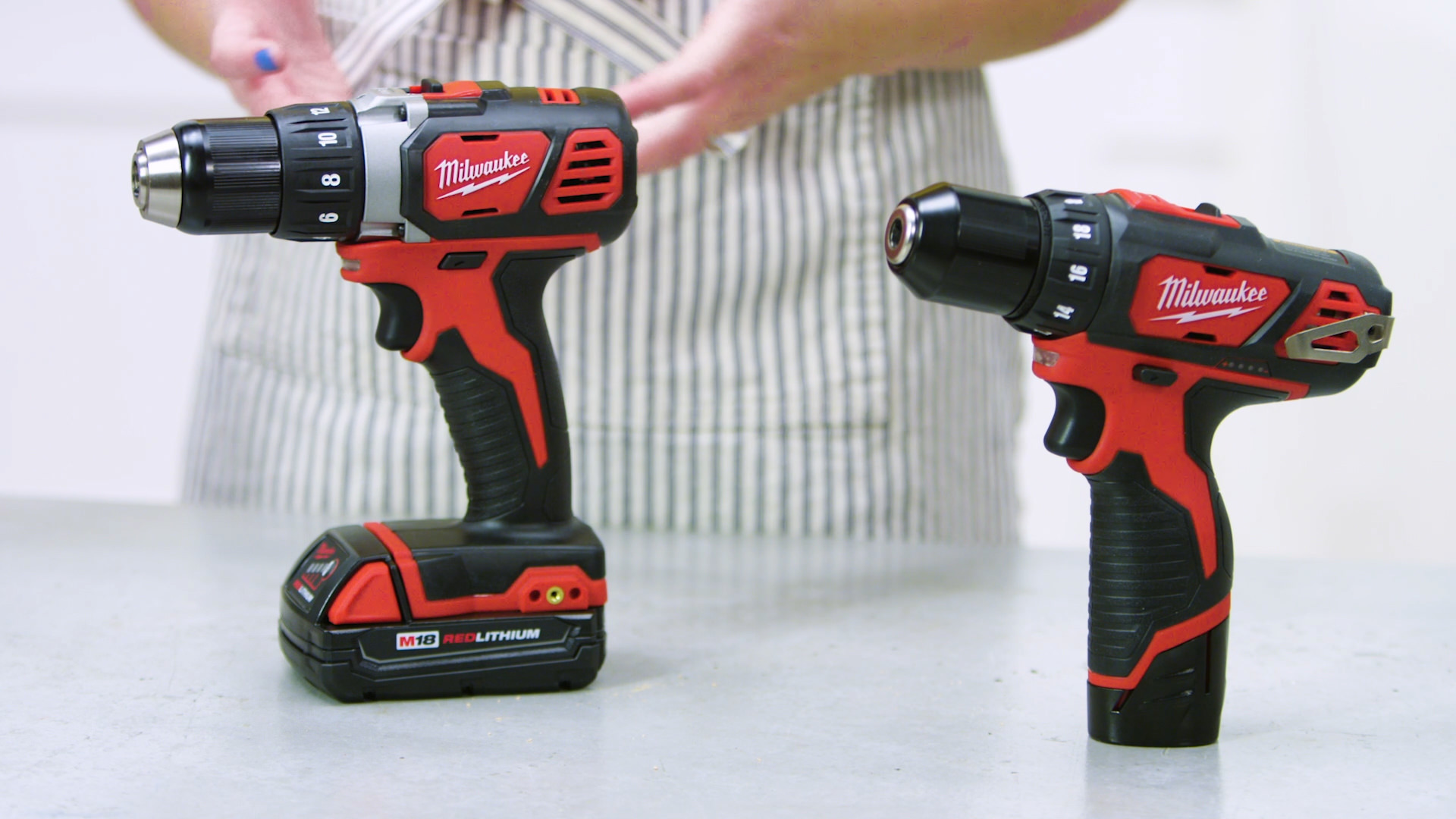 milwaukee tool m12 m18