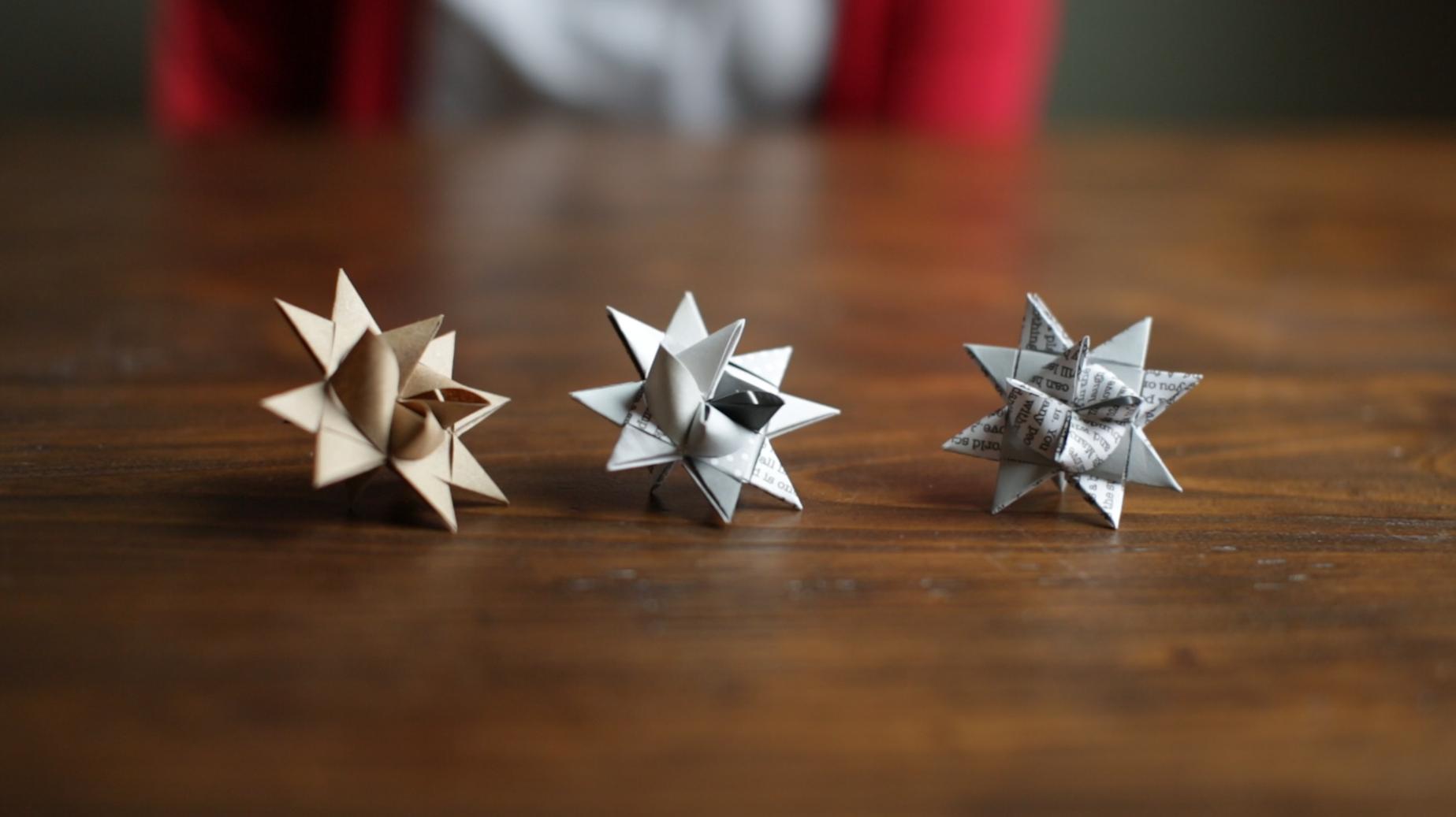 danish paper stars dihy