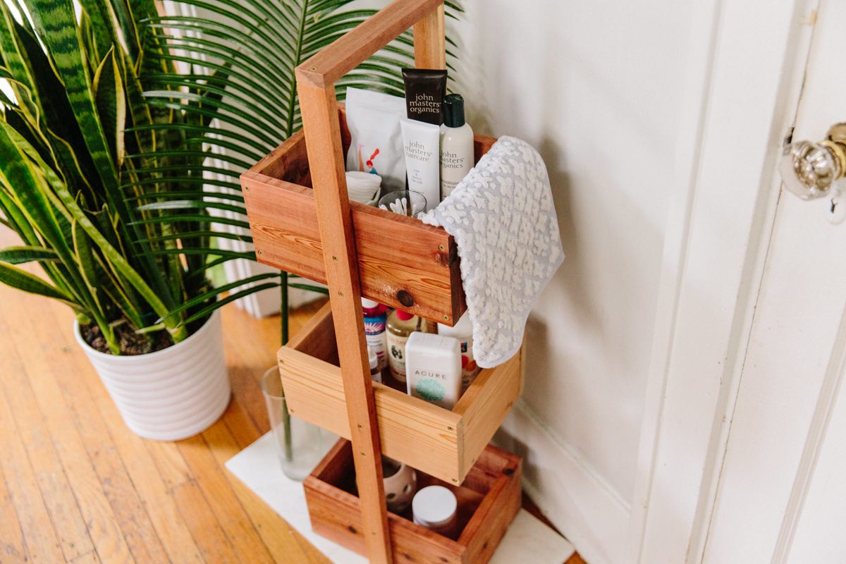 17 Bathroom Storage Tower