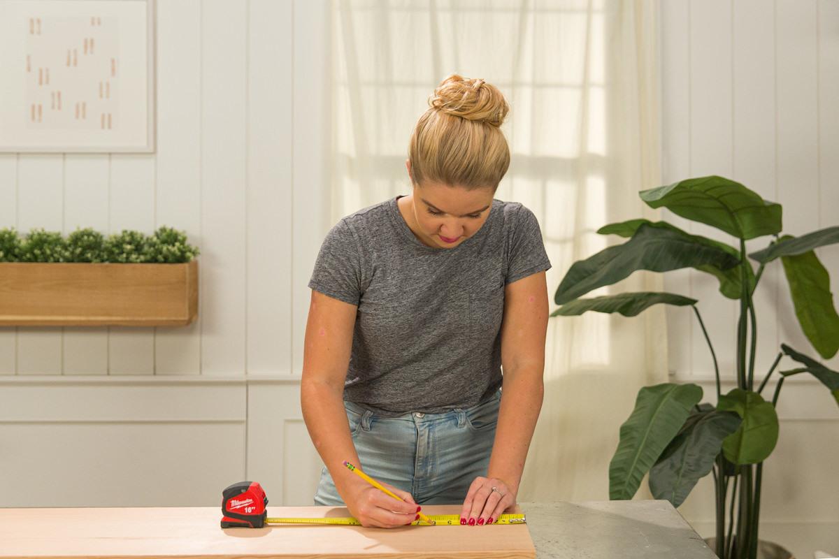 measure coffee table