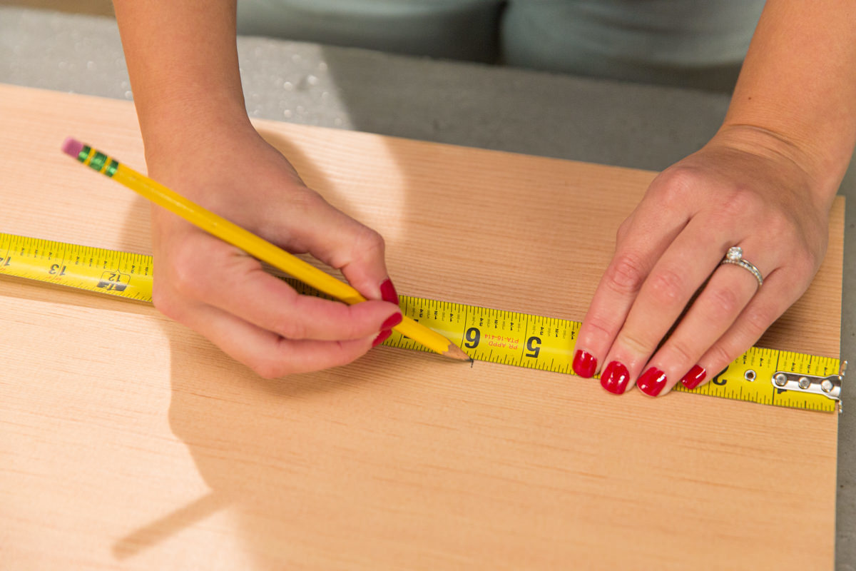 measure table wood