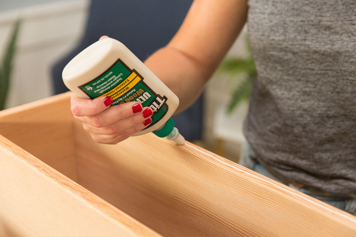 glue table sides