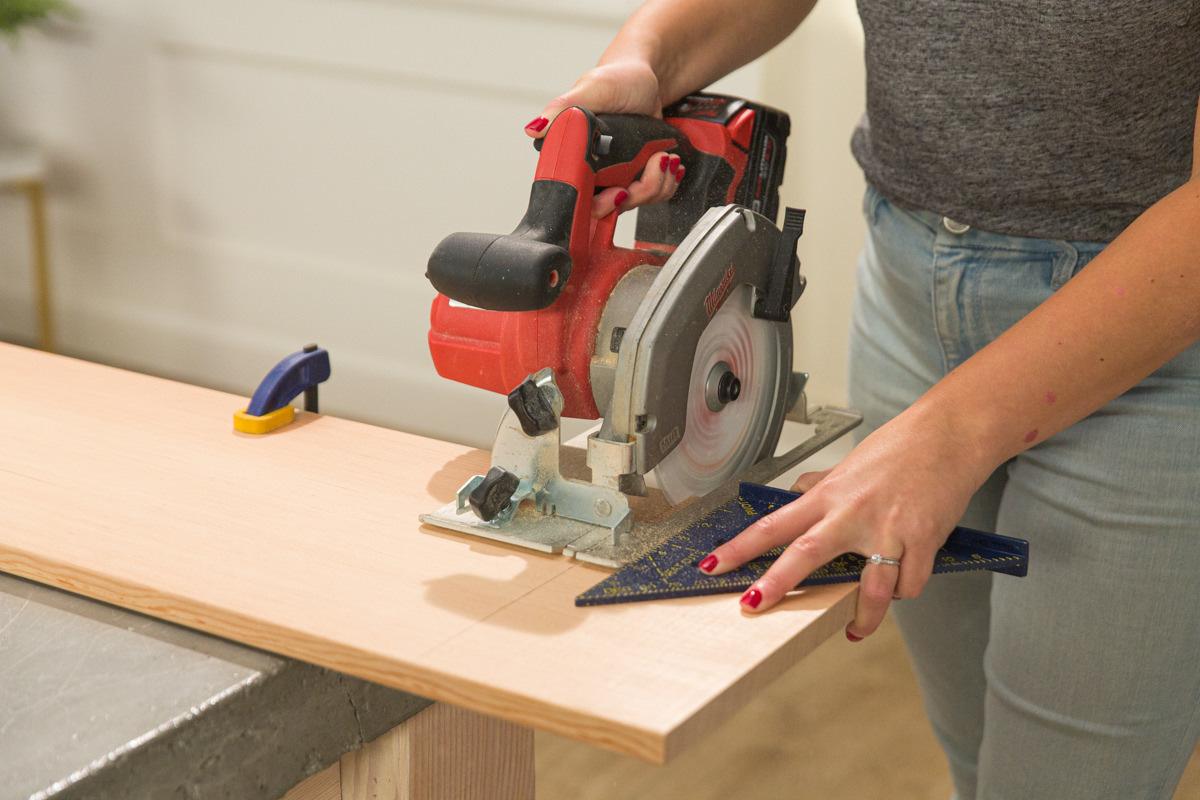 cut table wood