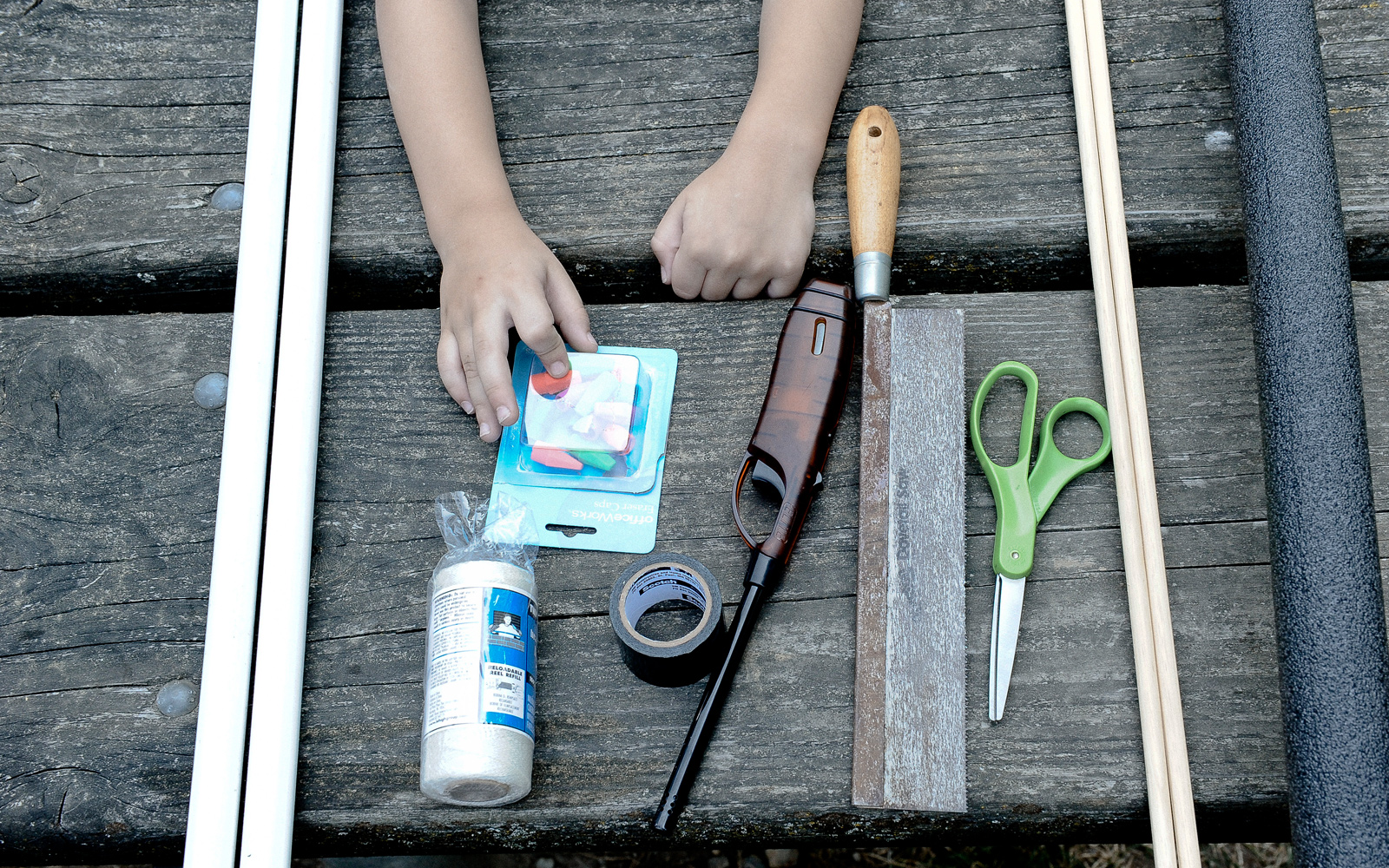kids bow and arrow materials
