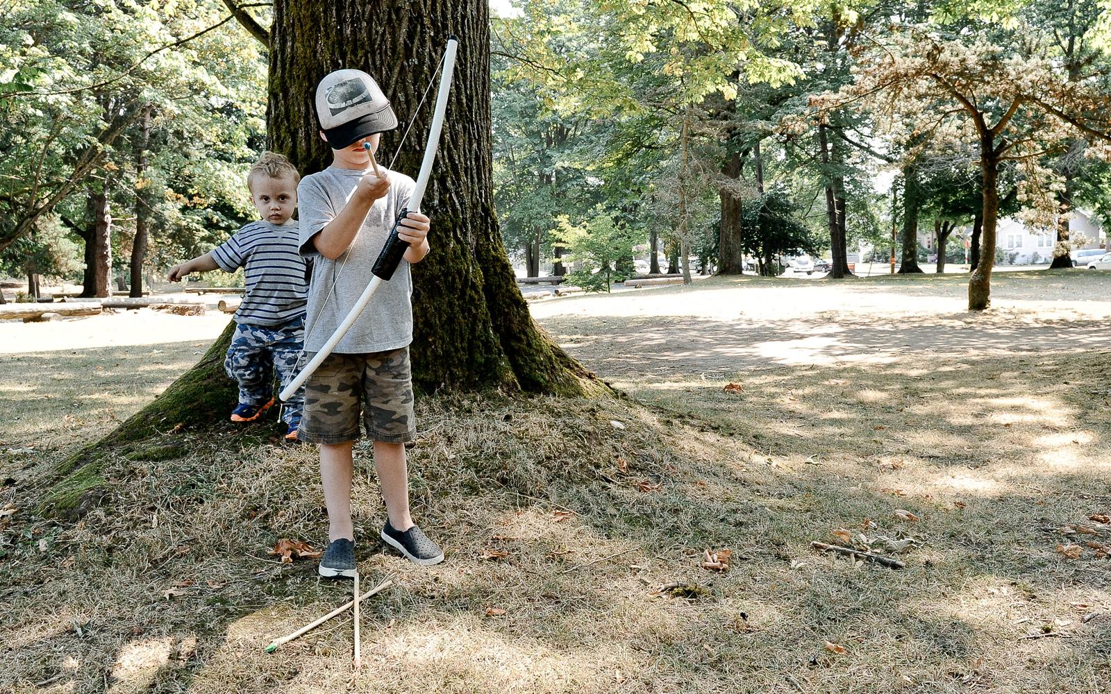 diy kids bow an arrow