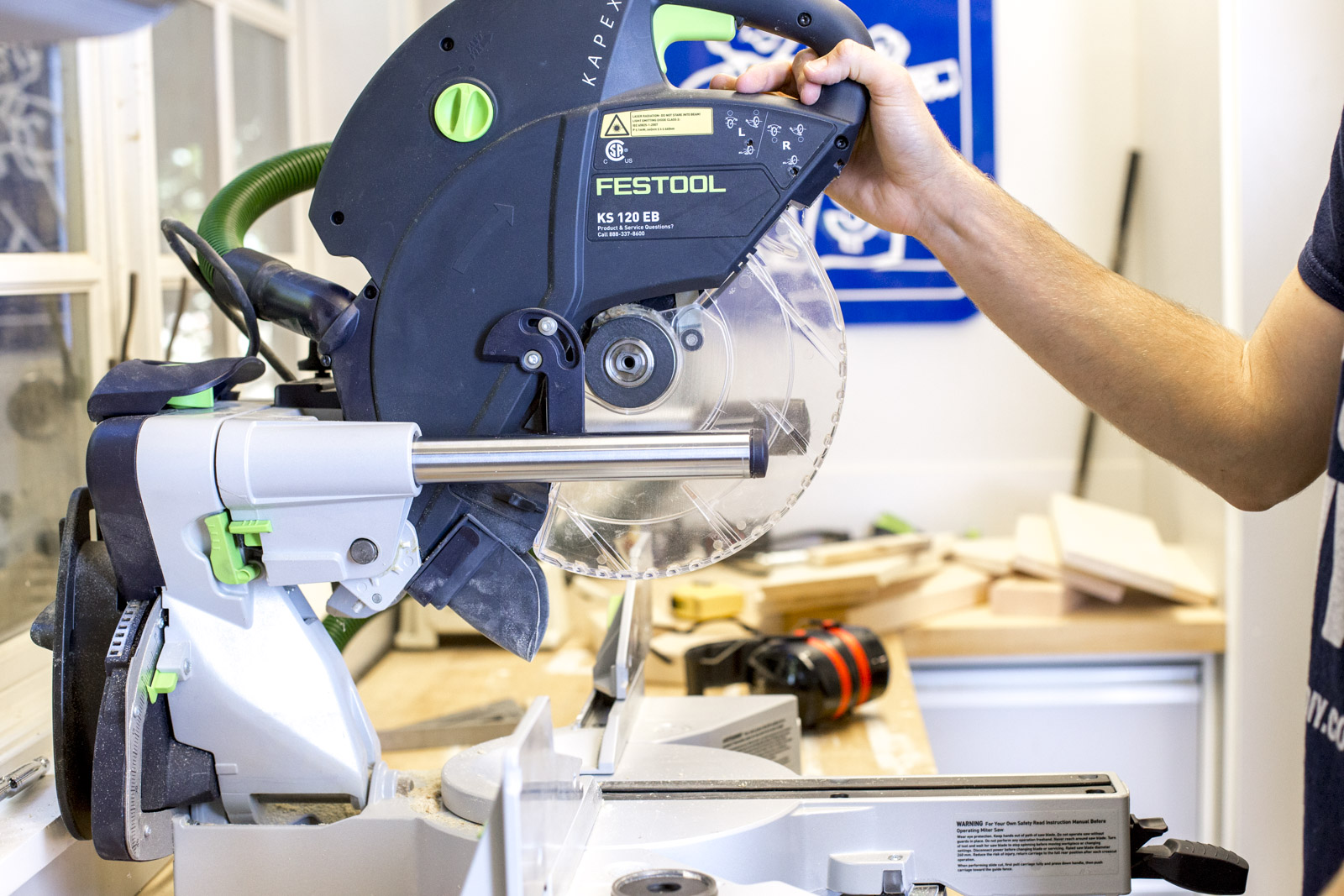 How to use a chop saw miter saw diy tips greentooth Images