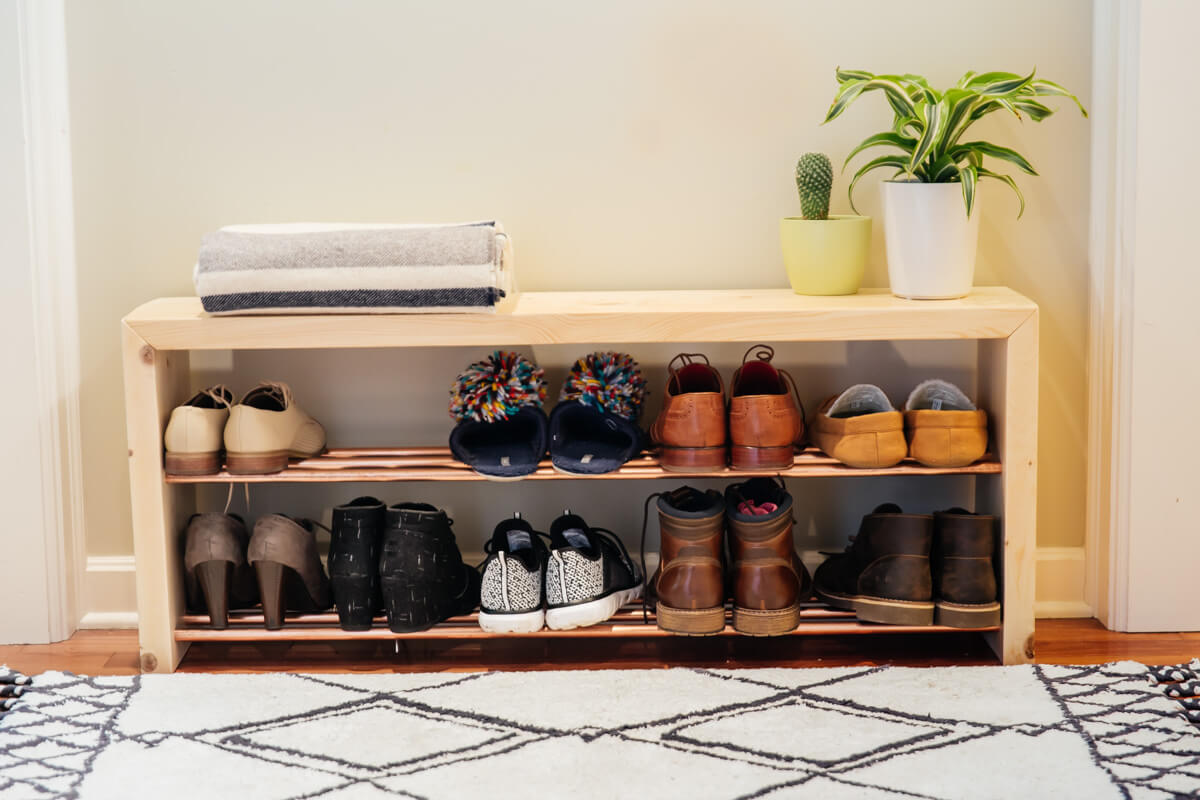 Dunn Diy Shoe Rack Bench 4862