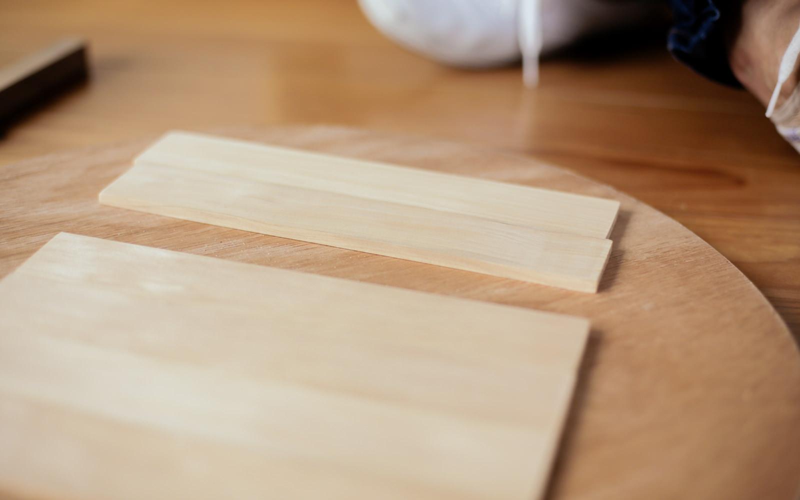 wood for ikea clock