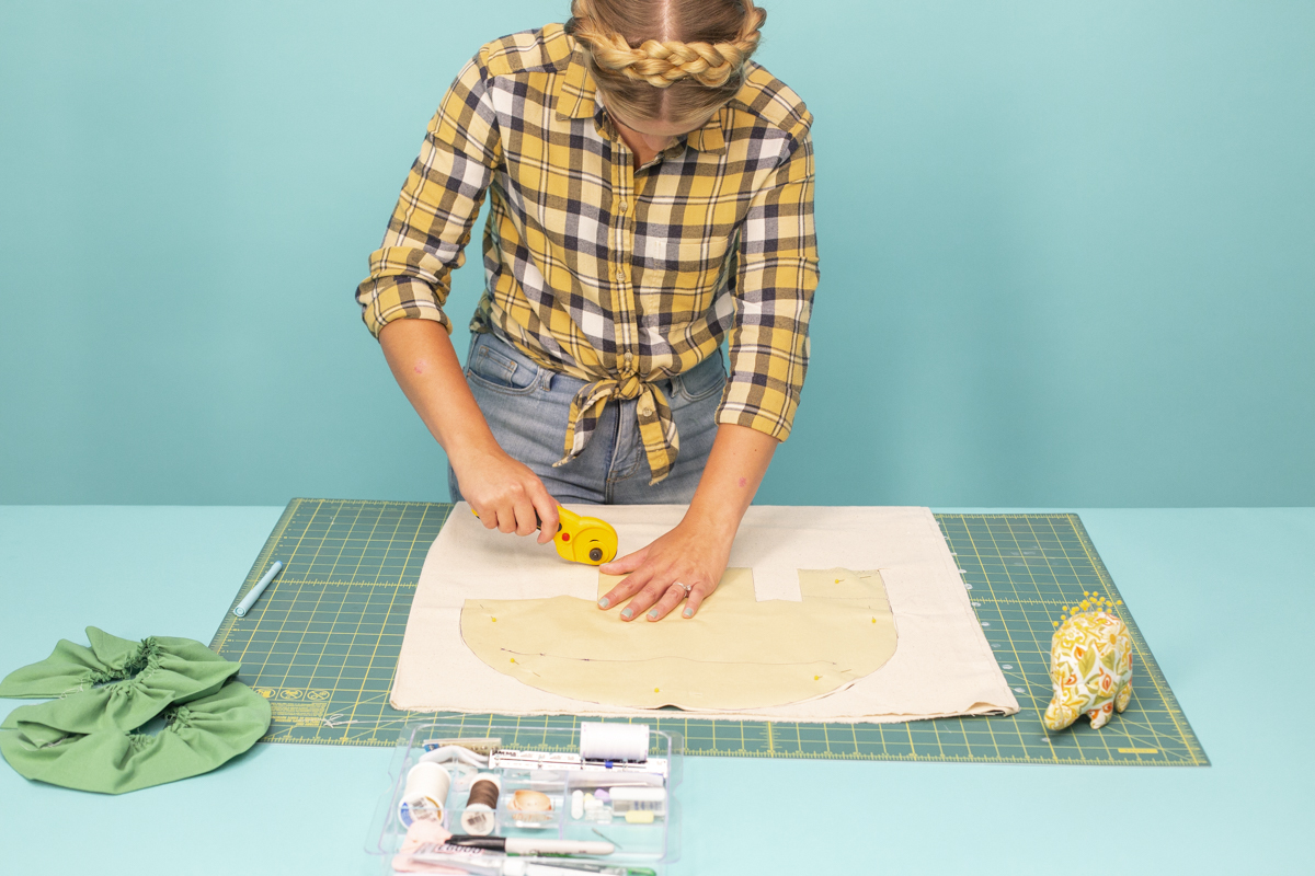rotary cutter cat taco costume shell
