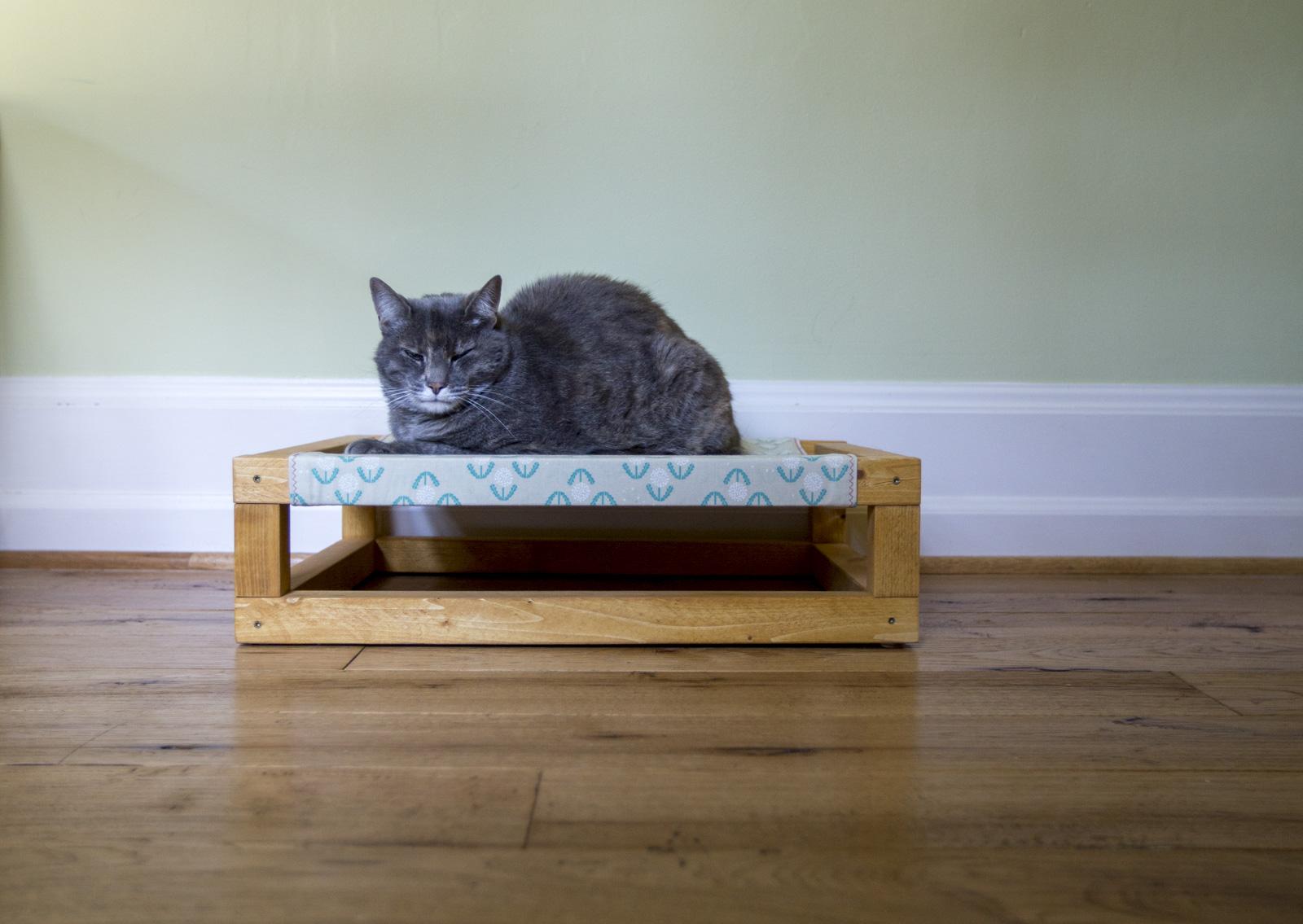 How To Build A Diy Cat Hammock