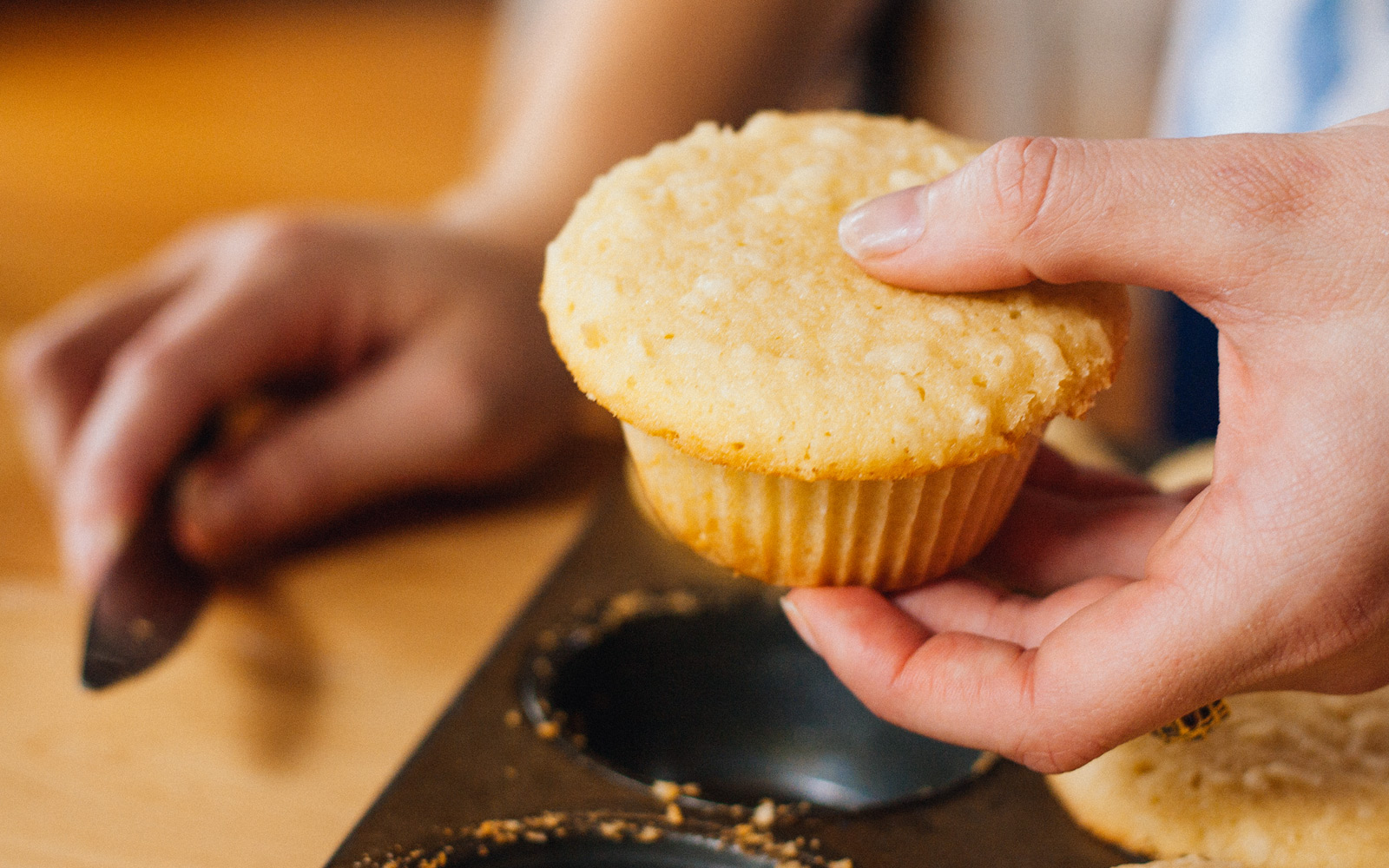 bake the coconut cupcakes