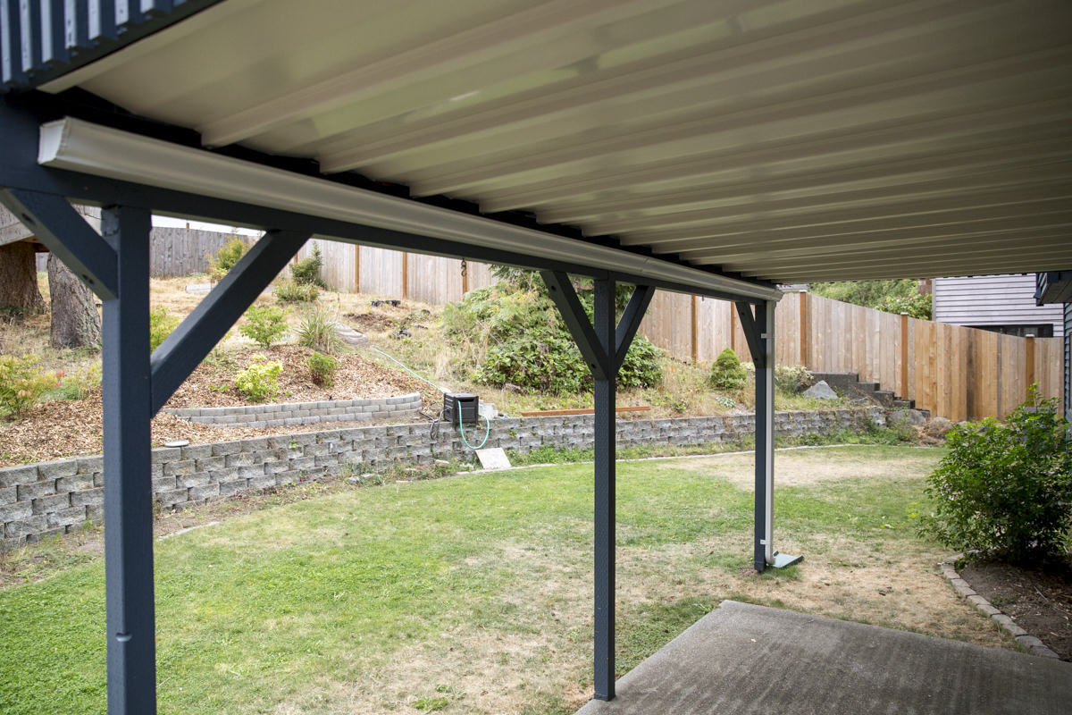 How To Install A Gutter For A Patio Dry Space