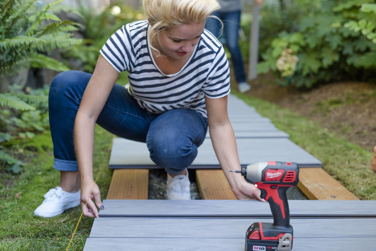 How To Build A Boardwalk Deck Amp Wood Walkway Dunn Diy