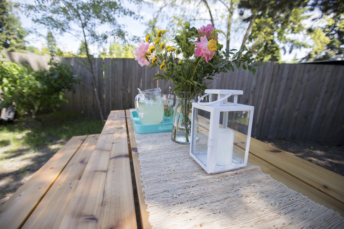 How To Build A Picnic Table - Picnic table print