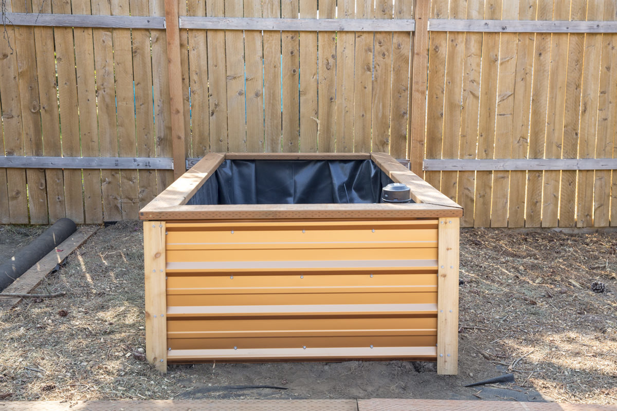 How To Build A Self Watering Raised Bed Part 1 Constructing The Frame