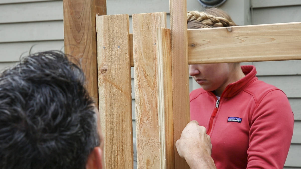 diy fence boards