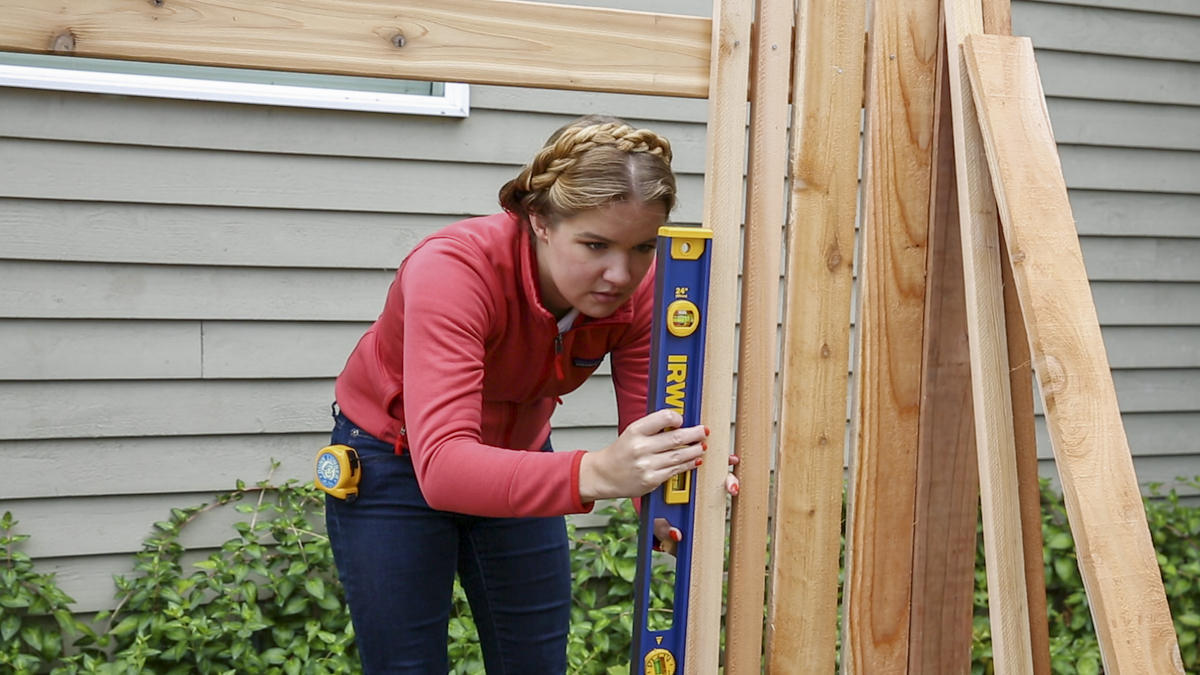 board to fence rails